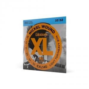 D′Addario EXL 140 struny do gitary elektrycznej 10-52
