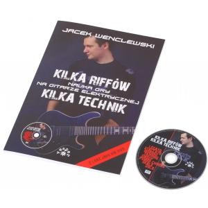 AN Wenclewski Jacek Kilka riffów kilka technik + DVD