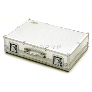 Rockcase 23010 case na efekty (duży) silver aluminium