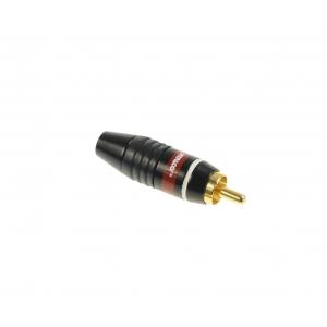 Vitalco RCA wtyk na kabel biały