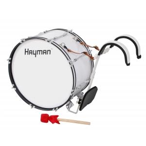 Hayman MDR-2212 bęben basowy marszowy 22x12″ z nosidłem