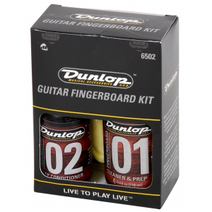 Dunlop 6502 Guitar Fingerboard Kit zestaw płynów do  (...)