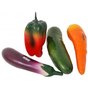 Nino SET-101 zestaw instrumentów perkusyjnych (warzywa)