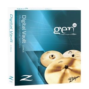 Zildjian GEN16 Z-Pack - sample talerzy perkusyjnych, program komputerowy