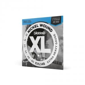 D′Addario EXL 148 struny do gitary elektrycznej 12-60  (...)