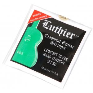 Luthier 50 concert silver hard tension struny do gitary klasycznej