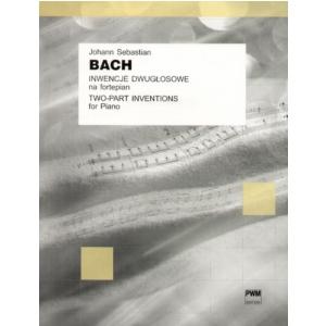 PWM Bach Johann Sebastian - Inwencje dwugłosowe na fortepian