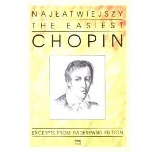 PWM Chopin Fryderyk - Najłatwiejszy Chopin na fortepian
