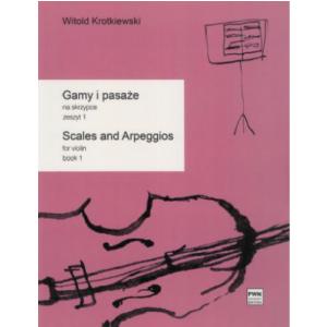 PWM Krotkiewski Witold - Gamy i pasaże na skrzypce, z. 1 -  (...)