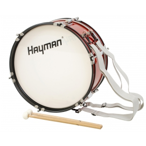 Hayman JMDR-1607 bęben basowy marszowy 16x7″ z nosidłem
