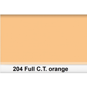 Lee 204 Full C.T.Orange filtr barwny folia - arkusz 50 x  (...)