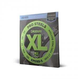 D′Addario EPS-165/5 Pro Steels struny do gitary basowej  (...)