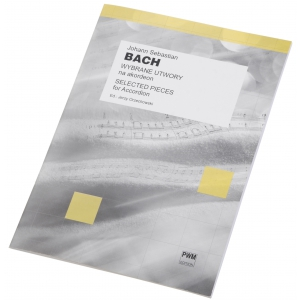 PWM Bach Johann Sebastian - Wybrane utwory na akordeon