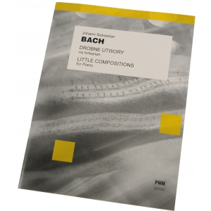 PWM Bach Johann Sebastian - Drobne utwory na fortepian