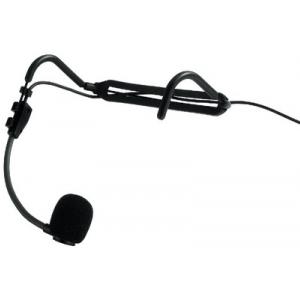 Monacor HSE-821SX elektretowy mikrofon nagłowny