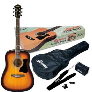 Ibanez V 50 NJP VS gitara akustyczna + pokrowiec