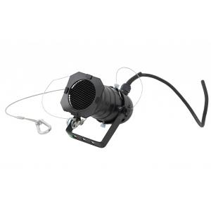 Monacor PAR20 SW reflektor - obudowa czarna gwint E27