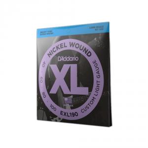 D′Addario EXL 190 struny do gitary basowej 40-100