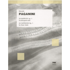 PWM Paganini Niccolo - 24 kaprysy op. 1 na skrzypce