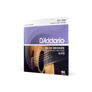 D′Addario EJ-13 struny do gitary akustycznej 80/20 Bronze  (...)