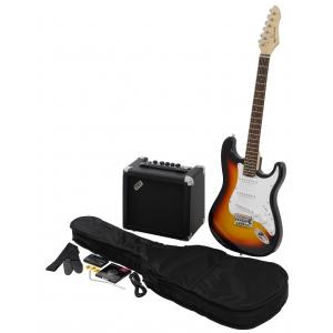VGS RC-100  gitara elektryczna sunburst - zestaw