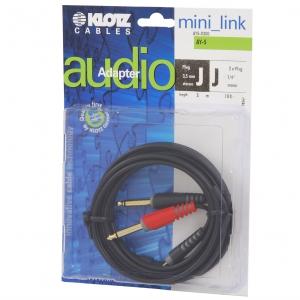 Klotz AY5 0300 kabel mini TRS / 2xTS  3m
