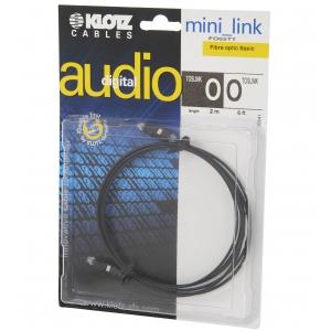 Klotz FO 02TT 2m toslink/toslink kabel