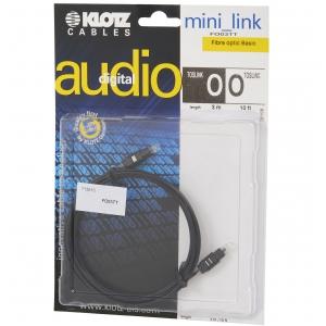 Klotz FO 03TT 3m toslink/toslink kabel