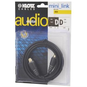 Klotz MID-030 kabel MIDI 3m