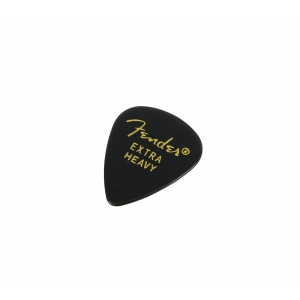 Fender 351 Shape x-heavy black kostka gitarowa