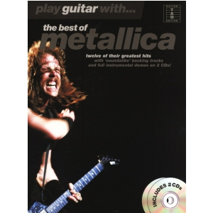 PWM Metallica - The best of. Play guitar with... (utwory  (...)