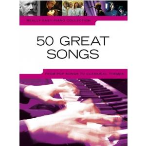 PWM Różni - 50 great songs (utwory na fortepian, wokal i  (...)