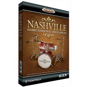 Toontrack EZX Nashville biblioteka brzmień perkusyjnych  (...)