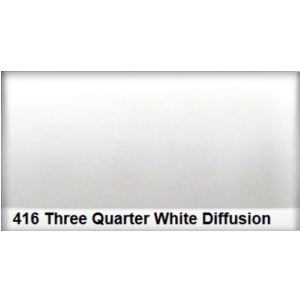 Lee 416 Three Qtr. White Diffusion 3/4 filtr folia -  (...)