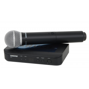 Shure BLX24/PG58 PG Wireless mikrofon bezprzewodowy  (...)