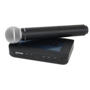 Shure BLX24/SM58 SM Wireless mikrofon bezprzewodowy  (...)