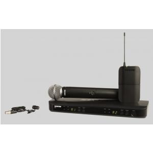 Shure BLX1288/WL185 SM Wireless mikrofon bezprzewodowy  (...)