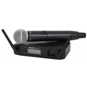 Shure GLXD24/SM58 SM Wireless cyfrowy mikrofon  (...)