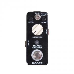 Mooer MDS 1 Black Secret - Distortion efekt gitarowy