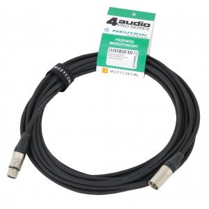 4Audio MIC PRO 6m przewód mikrofonowy XLR-F - XLR-M z  (...)