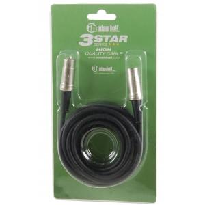 Adam Hall K3 MIDI 0300 BLK-5 kabel MIDI 3m, (czarny,  (...)