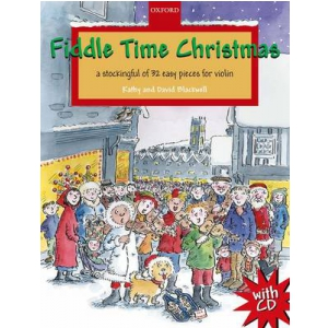 PWM Blackwell Kathy, David - Fiddle time Christmas (utwory na skrzypce + CD)
