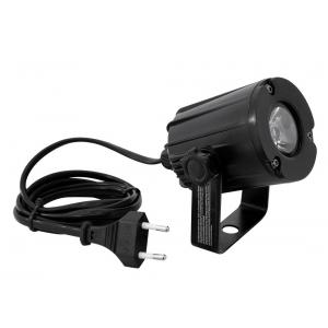 Eurolite LED Pinspot PST-3W 3200K 6st. czarny - oświetlacz  (...)