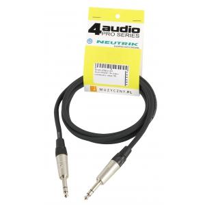 4Audio MIC2022 1,5m przewód symetryczny / stereo TRS TRS  (...)
