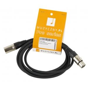 4Audio MIC 2m przewód mikrofonowy XLR-F - XLR-M