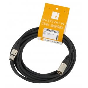 4Audio MIC 5m przewód mikrofonowy XLR-F - XLR-M