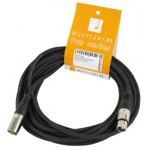 4Audio MIC 6m przewód mikrofonowy XLR-F - XLR-M