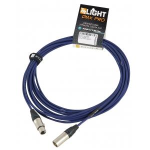 MLight DMX PRO 1 pair 110 Ohm 10m przewód DMX 3-pin XLR  (...)