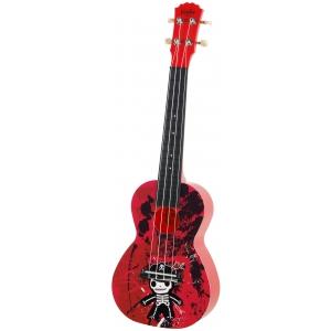 Korala PUC 30-006 ukulele koncertowe Junior Skeleton