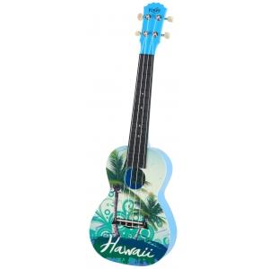 Korala PUC 30-009 ukulele koncertowe Hawaii Green